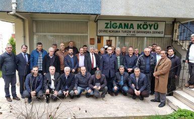Zigana Köyü Çevre Koruma Turizm ve Dayanışma Derneğinin 1. Olağanüstü genel kurulu yapıldı.